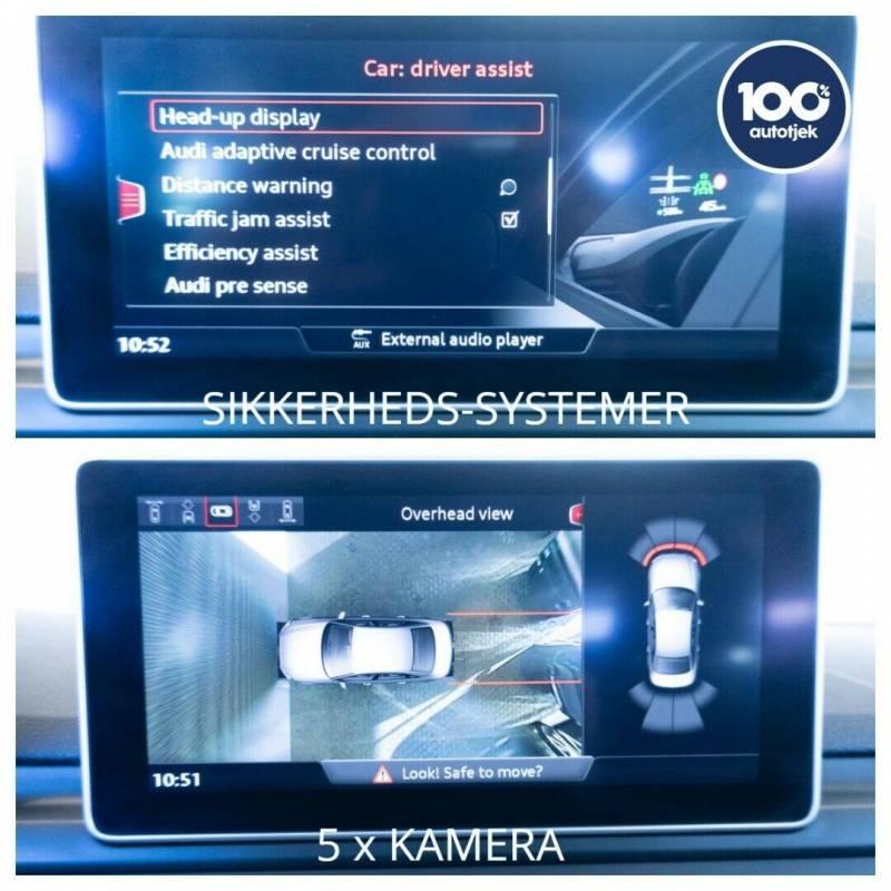 A4 2,0 TDi 150 S-tr. 4d, Sort