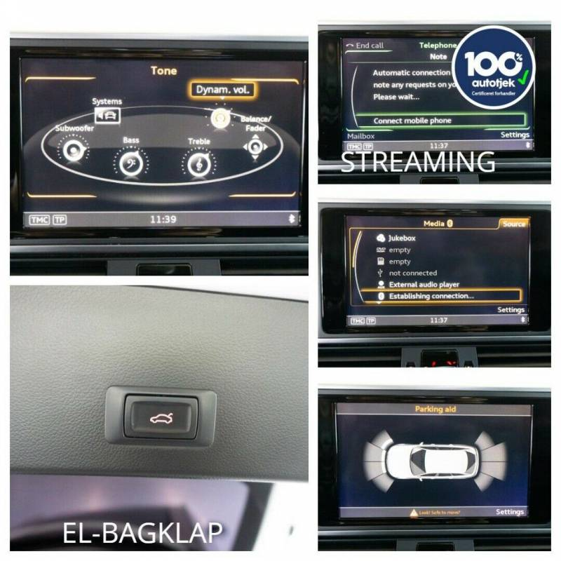 A6 2,0 TDi 190 Ultra Avant S-tr. 5d, Hvid