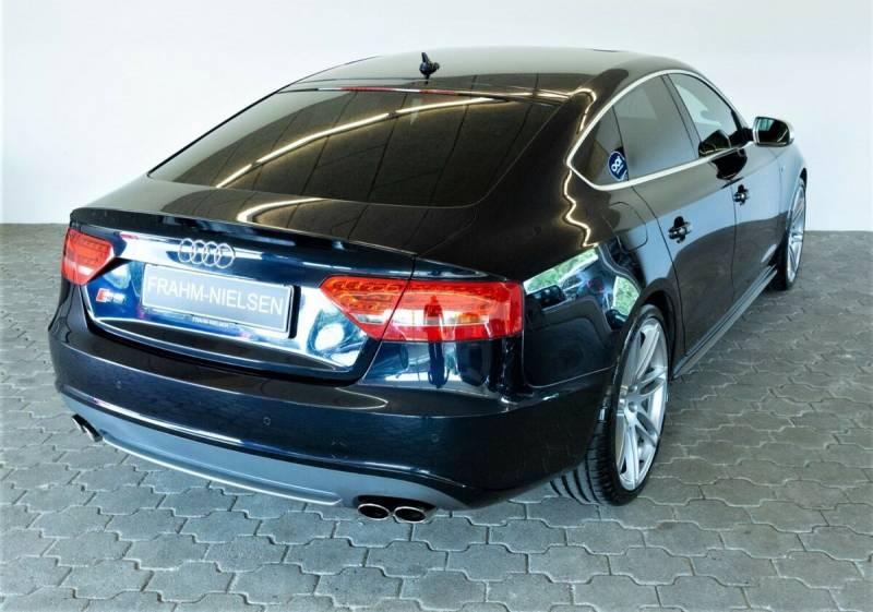 S5 3,0 TFSi Sportback quattro S-tr. 5d, Blåmetal
