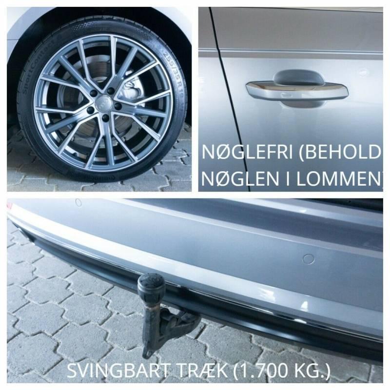 A4 2,0 TDi 150 Sport Avant S-tr. 5d, Sølvmetal