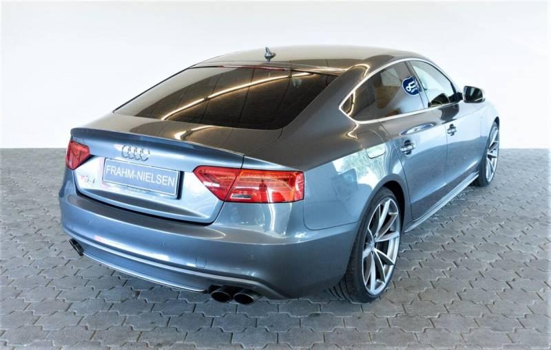 S5 3,0 TFSi Sportback quattro S-tr. 5d, Gråmetal