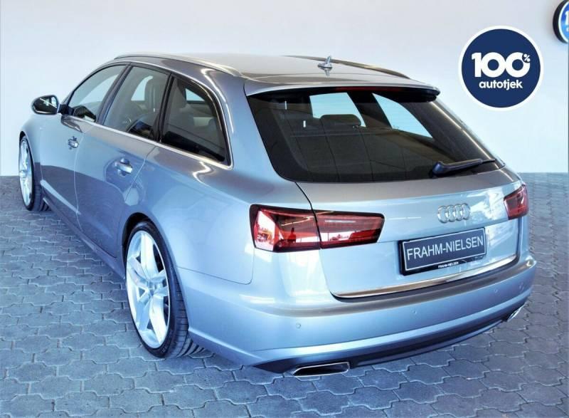 A6 2,0 TDi 190 Ultra S-line Avant S-tr. 5d, Sølvmetal