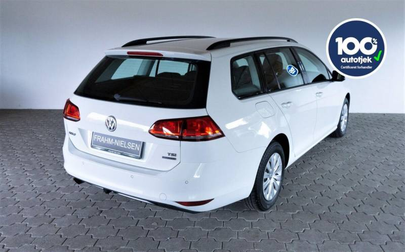 Golf VII 1,2 TSi 105 Trendline Variant BMT 5d, Hvid