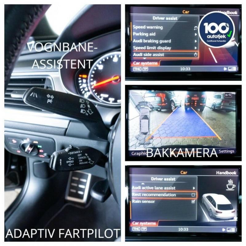 A6 2,0 TDi 190 Ultra S-line Avant S-tr. 5d, Sortmetal