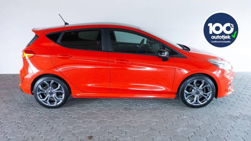 Fiesta 1,0 EcoBoost ST-Line 5d, Rød